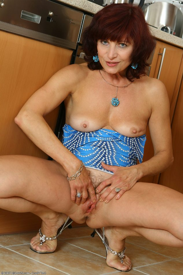 press breast naked