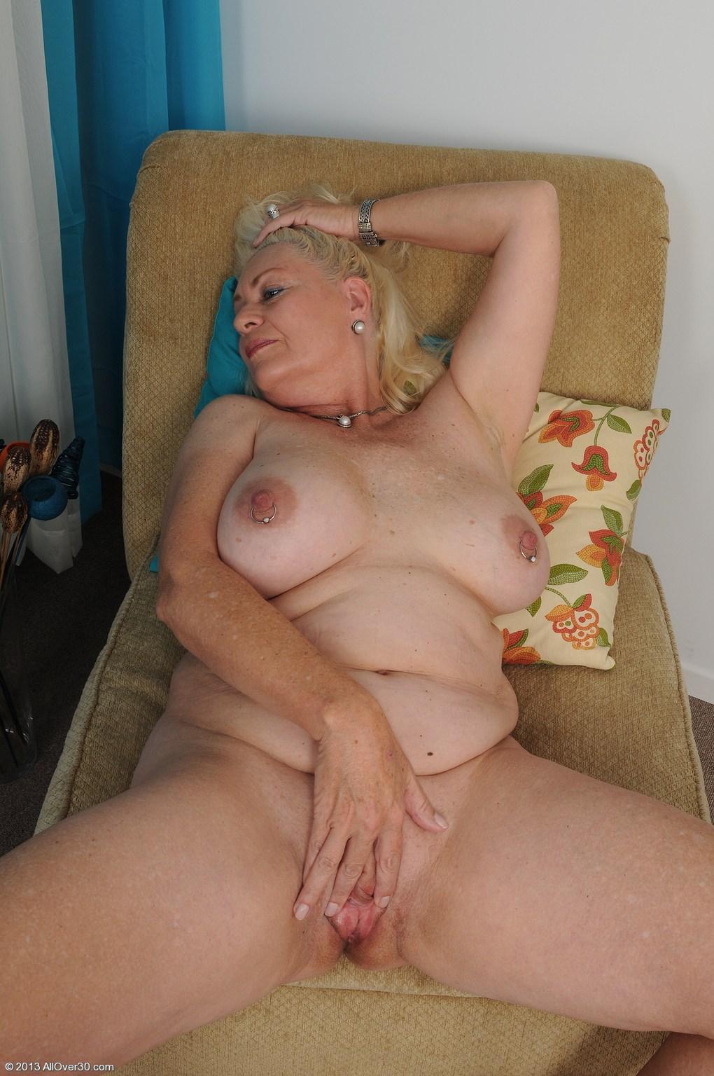 Whore Mature busty horny granny