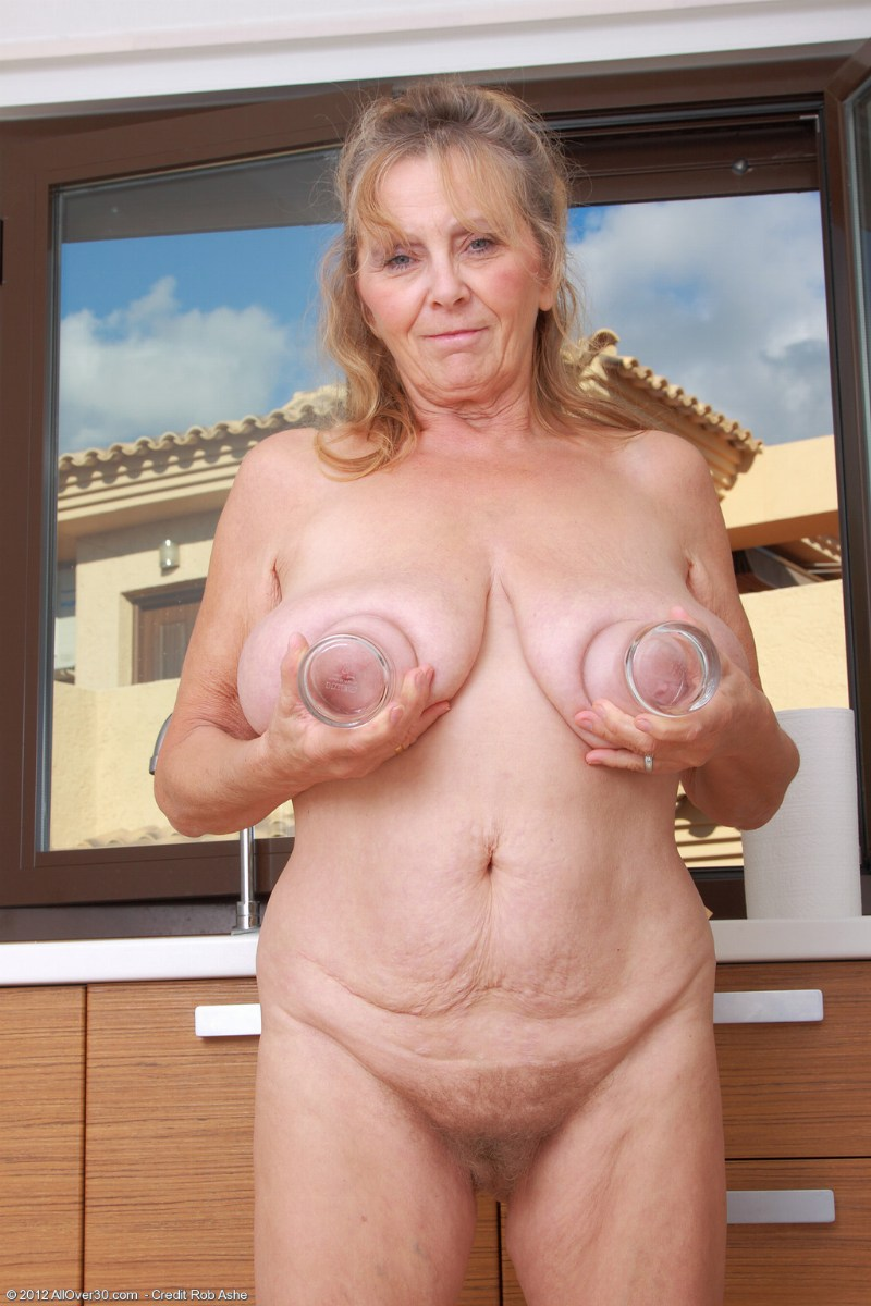 granny hairy isabel mature Old