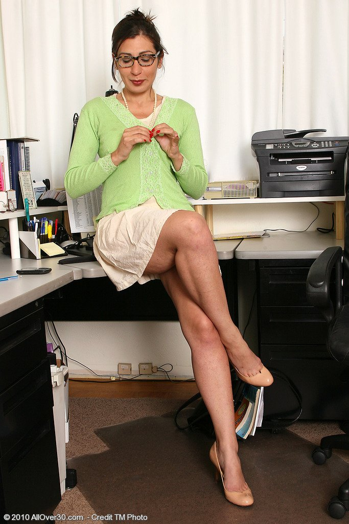 Lesbian milf undressing