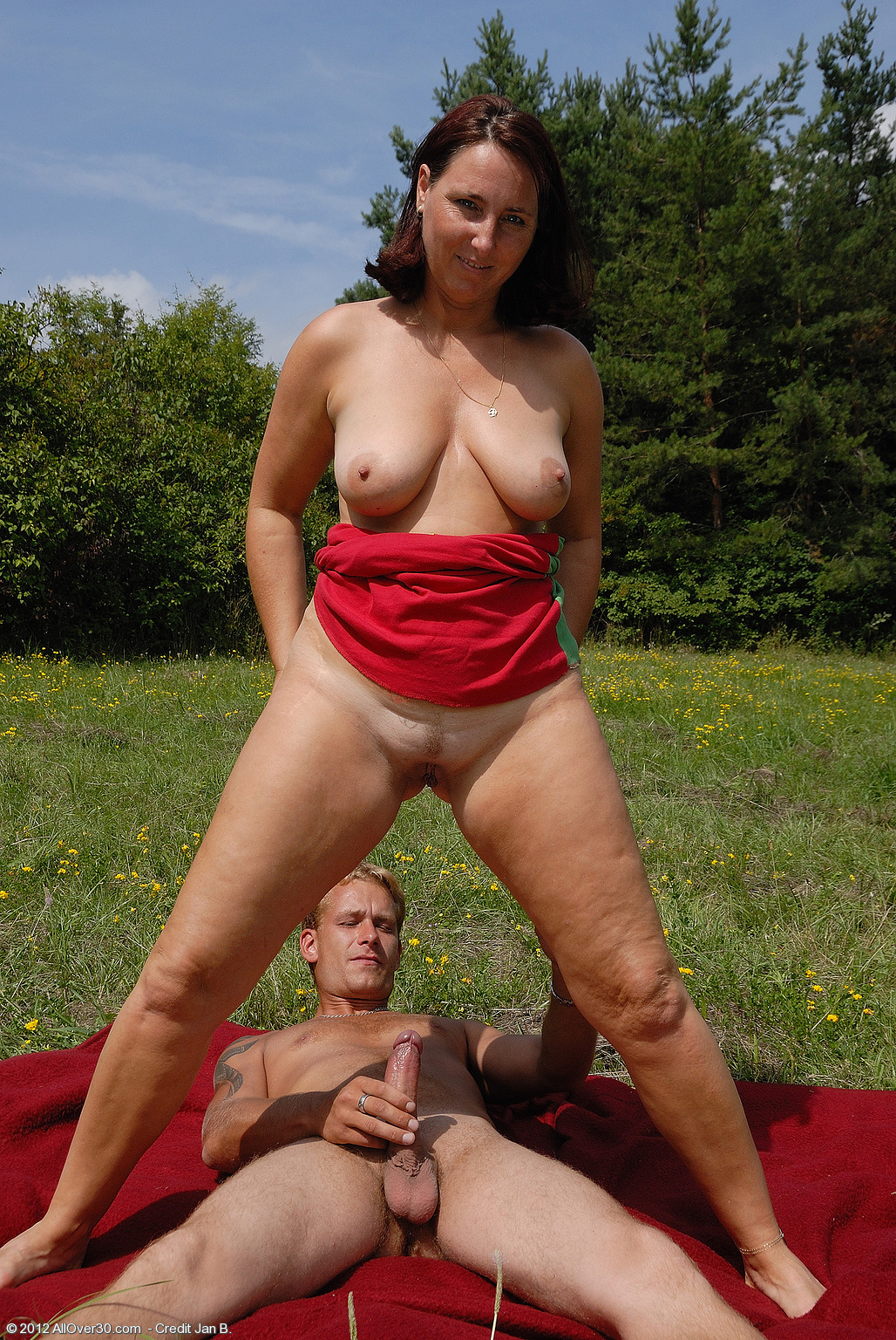 Fucked outdoors