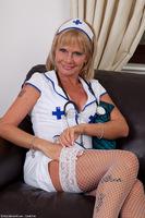 Cathy Oakley Mature Nurse