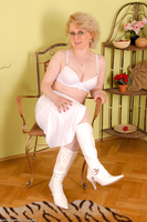Margeaux White Boots