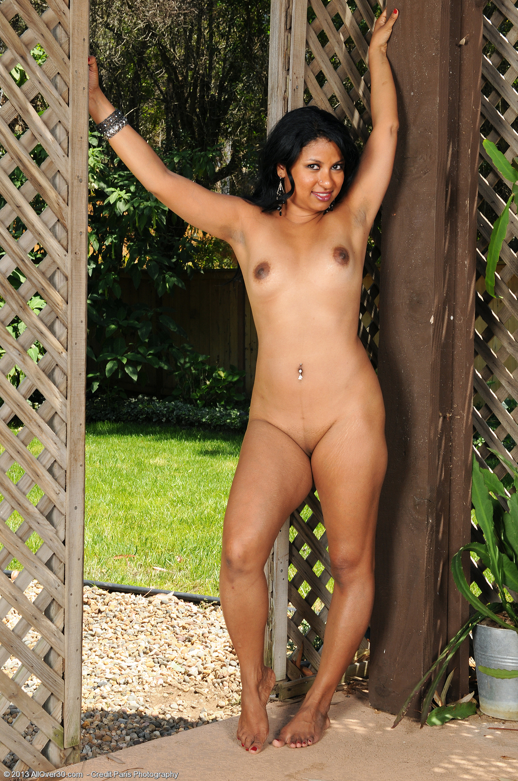Pity, Older women naked outside with
