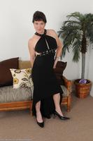 Stripping Older Babe Anna D