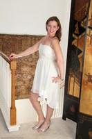 Sally Drops White Dress