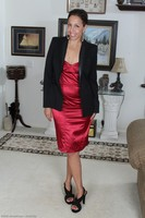 Josephine Slips Off Dress