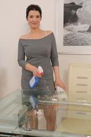 Fernanda Tits On Glass