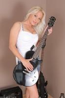 Marlene Naked Guitar