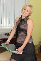 Office MILF Lu Berry