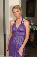 Olga Purple Dress