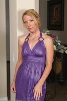 Olga Purple Dress