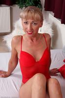 Elizabeth Red Lingerie