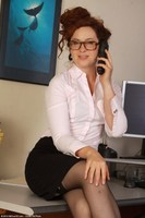 Office Babe Fiona