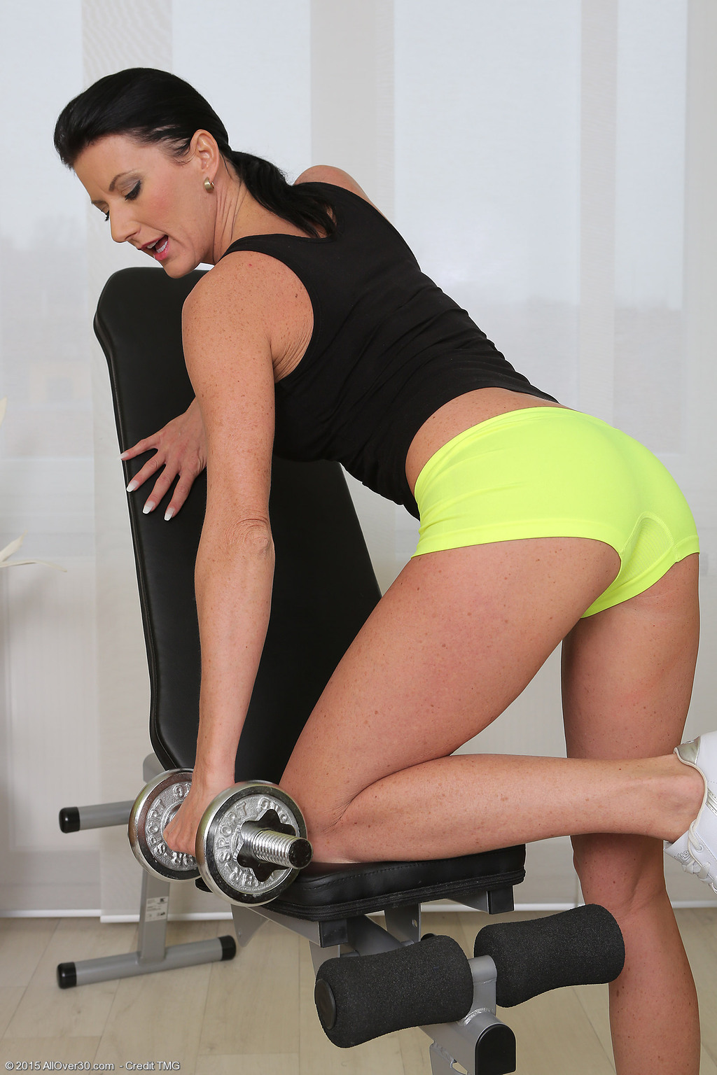 Milfs working out