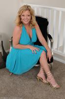 Karen In Blue Dress