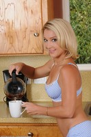 Laura Bentley Naked In Kitchen