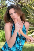 Jizzabelle Dildos Mature Twat Outdoors
