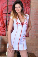 Naughty MILF Nurse Eva Johnson