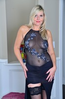 Cougar Velvet Skye In Sheer Dress