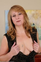 Older Babe Catrina Costa Strips Naked