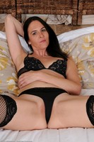 Maggie K Naked In Black Stockings